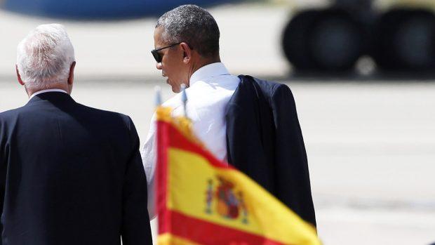Barack Obama se despide de España tras haber pasado un intenso día (Foto: EFE)