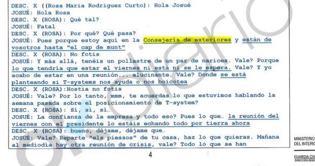 """La Generalitat amenazó a la empresa encargada del voto electrónico del 1-O: """"Os la estáis jugando"""""""