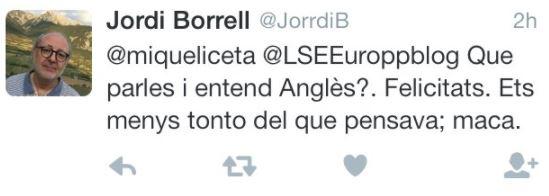 Un alto cargo de la Universitat de Barcelona muestra su homofobia contra Iceta: