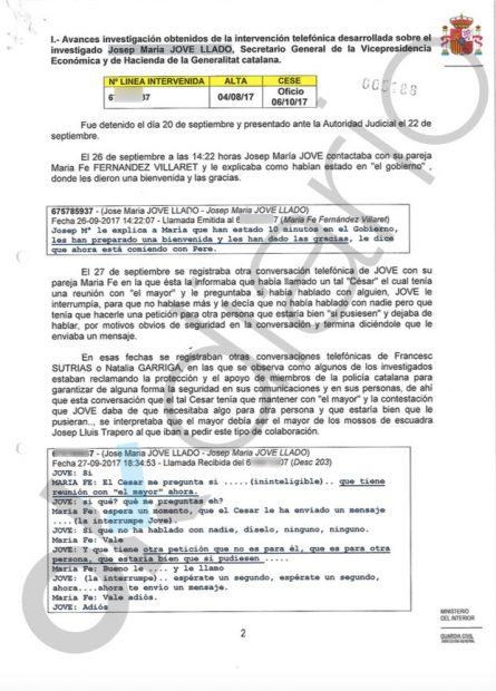 La Guardia Civil identifica a Roures en las reuniones clave que mantenían los golpistas del 1-O