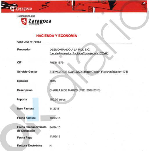 El PSOE también subvencionó con Belloch el taller de Zaragoza que enseña a masturbarse