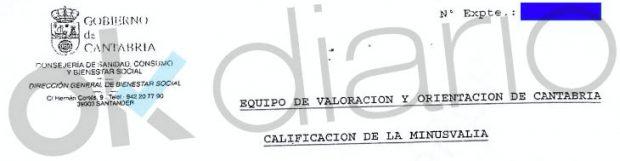 La presidenta del PP cántabro miente: sabe que la discapacidad de Miguelín es mental