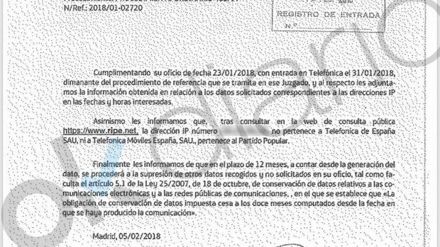 El PP de Génova realizó 14 pagos en horario nocturno para amañar el Congreso de su partido en Cantabria
