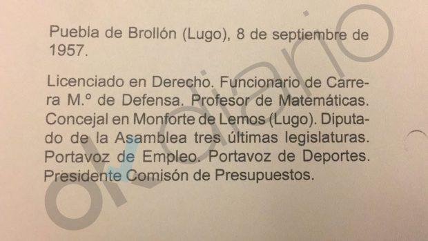 Franco es un intruso: el nº 1 del PSOE madrileño ejerció como profesor de Matemáticas con su falsa licenciatura