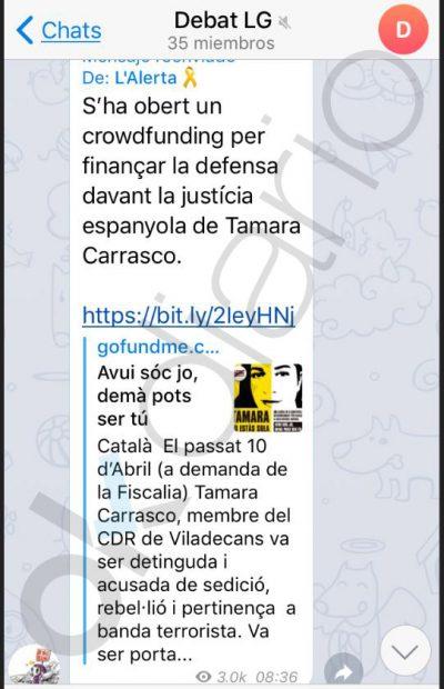 Los cargos golpistas saquean el crowdfunding separatista y dejan sin fondos a los CDR