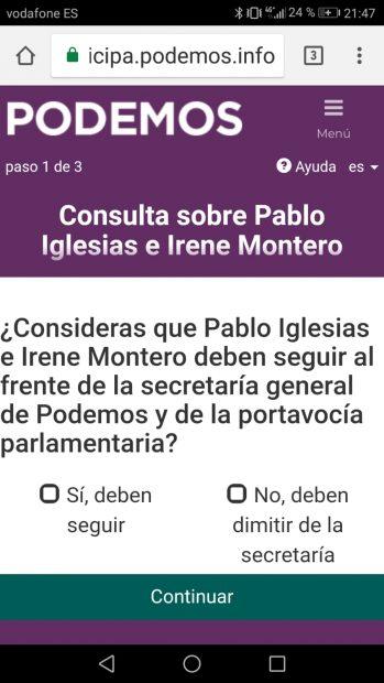 Las trampas del referéndum del casoplón de Iglesias: la suma de votos emitidos da un ¡¡¡100,35%!!!