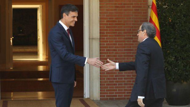 Quim Torra Pedro Sánchez