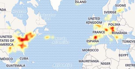 Facebook estuvo caído a nivel mundial durante más de una hora