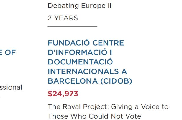 El especulador Soros dio en un solo año 300.000 $ a los grupos más radicales del separatismo catalán