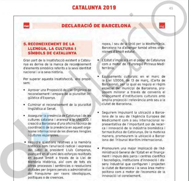 Sánchez ofrece dar presencia internacional a la Generalitat con una eurorregión que incluya a Baleares