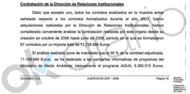 El interventor del Estado rechazó el 95% de los contratos que Narbona dio en Acuamed
